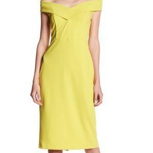 ECI New York off the shoulder dress